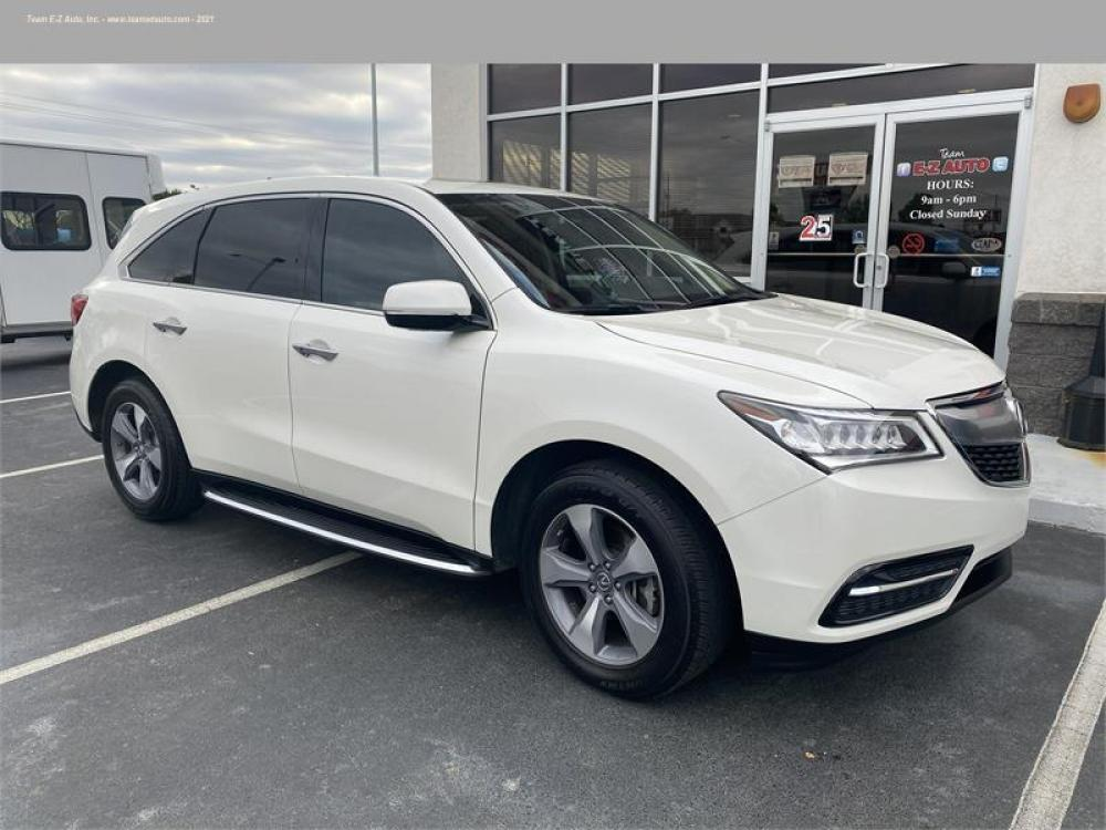 2016 White /Tan Acura MDX (5FRYD3H21GB) with an 6 3.5L V6 F SOHC 24V engine, Automatic transmission, located at 3900 Bragg Blvd., Fayetteville, 28303, (910) 868-3000, 35.081905, -78.943367 - Photo #5
